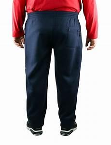 Pantalon Bleu Marine Homme : pantalon de jogging grande taille homme bleu marine albert ~ Melissatoandfro.com Idées de Décoration