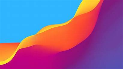 Orange Yellow Purple Abstract Colors Wallpapers