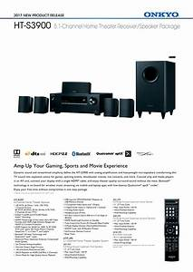 Onkyo Ht S3900 51 Channel Home Theater System