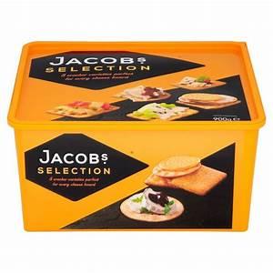 Jacob's Biscuits for Cheese has the favourite 8 crackers ...
