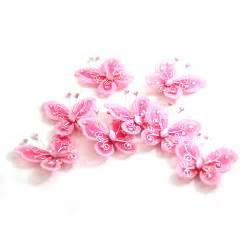 Pink Butterfly Glitter