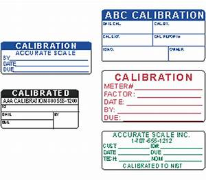 custom labels With custom calibration labels