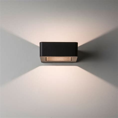 astro wall led black outdoor wall light at uk