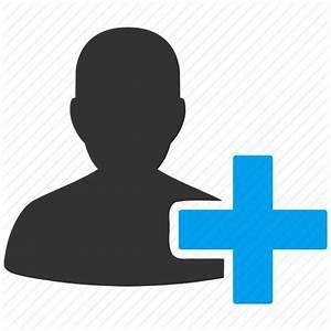Add user, contact, create account, customer, new member ...