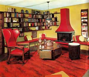 retro home interiors groovy interiors 1965 and 1974 home décor