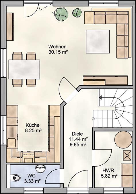Offene Wohnküche Grundriss by ᐅ Doppelhaus Bauen ᐅ 106 Qm Doppelhaus Grundrisse Dialuxe