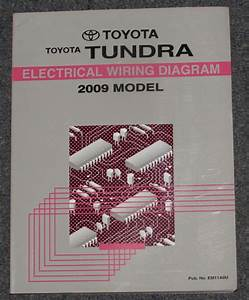 2009 Toyota Tundra Electrical Wiring Diagram Service