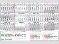Kalendar školske godine 20182019 Osnovna škola