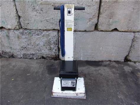 squar square buff 600 floor sander 120v works fine 2