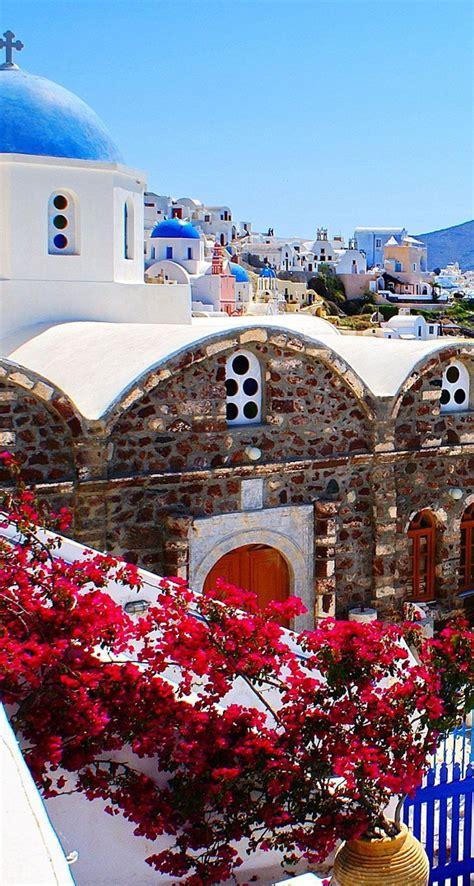 Greece Channel Oia Santorini Greece Greece