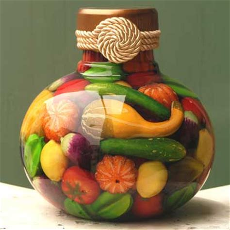 fruit  vegetable jars