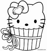 Cupcake Coloring Pages Kitty Hello Cupcakes Printable Adult Cool2bkids Colouring Birthday Sheets Printables Pdf Princess Happy Familyfriendlywork sketch template