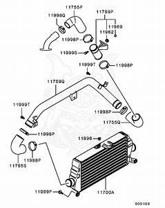 Evo 8 Intercooler Piping Diagram