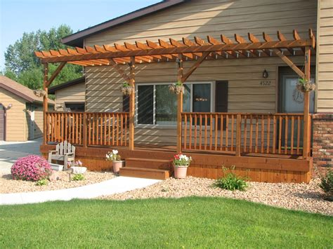 Front Porch Deck by Dreaming Is Free Front Porch Pergola Pergola Ideas And