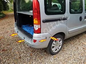 Par Choc Voiture : pare choc arri re comment le d monter sur un renault kangoo tuto voiture ~ Maxctalentgroup.com Avis de Voitures