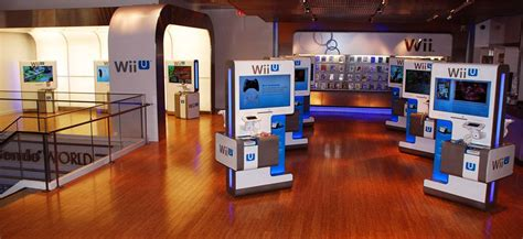 Nintendo World Wii Demo Stations