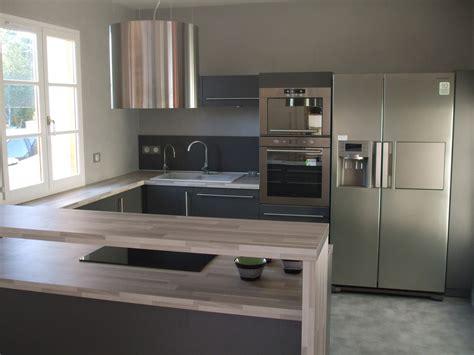cuisine en u ouverte cuisine en u côté maison cuisines