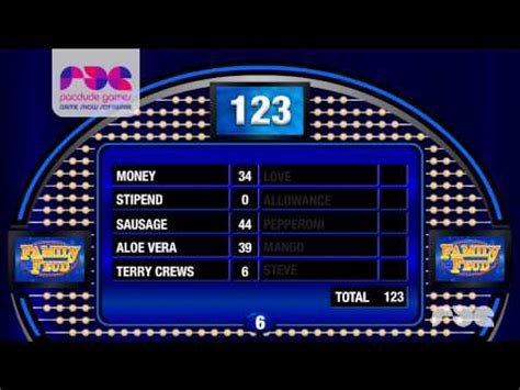 family feud template slides family feud presentation software 1 0