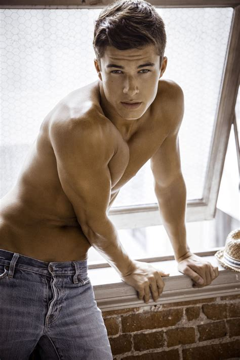 he is gorgeous chase mattson male models of the world