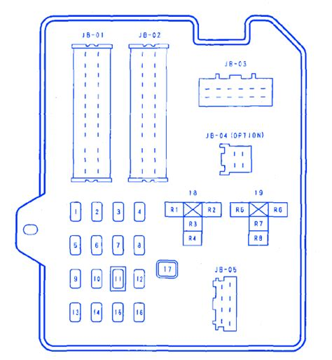 Mazda Fuse Box Block Circuit Breaker Diagram