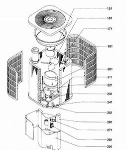 Goodman Model Cple24 Heat Pump Outside