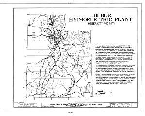 heber light and power file heber light and power company hydroelectric plant u