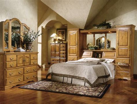 rustic oak furniture designs ideas decor bedroom