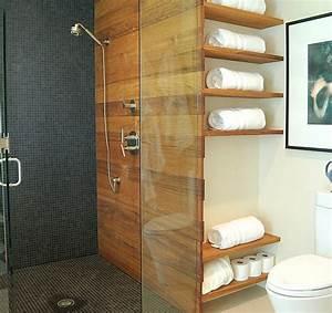 Moderne Wandgestaltung Bad : badezimmer regale wandgestaltung holz glas trennwand duschkabine traum wohnung traum haus ~ Sanjose-hotels-ca.com Haus und Dekorationen