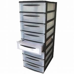 Rangement A Tiroir : eda tour de rangement 8 tiroirs format a4 ~ Teatrodelosmanantiales.com Idées de Décoration