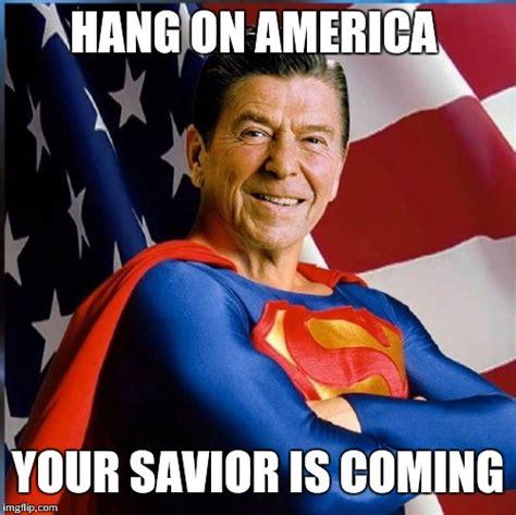 Ronald Meme - ronald reagan superman imgflip