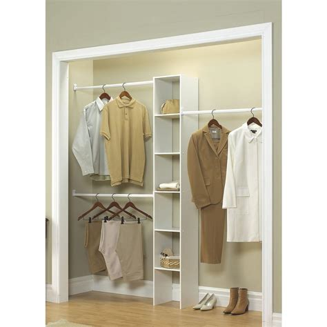 Closetmaid Systems - closetmaid 11 5 in d x 12 in w x 83 in h white custom