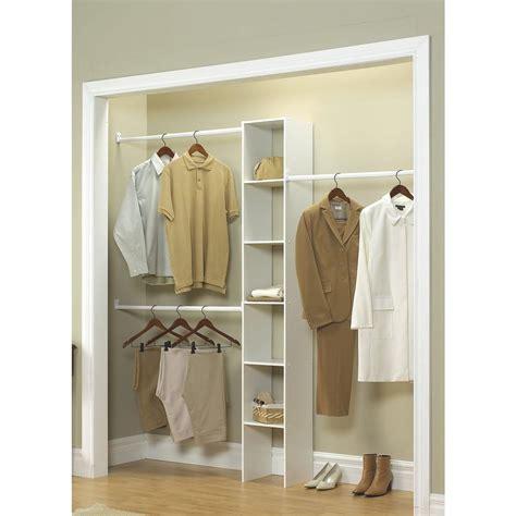 Closetmaid 12 In White Custom Closet Organizer7033 The