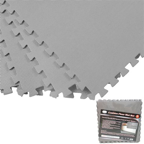 foam tile flooring walmart 100 sq ft foam floor mat set interlocking puzzle large