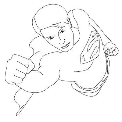 superman zeichnen lernen schritt fuer schritt tutorial