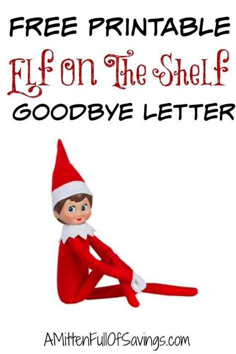 elf on the shelf goodbye letter printable on the shelf goodbye letter this worthey 21463   Elf On The Shelf Goodbye Letter1