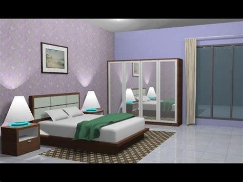 Sketchup Interior design ( Bedroom ) YouTube
