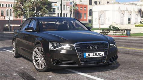 Audi A8 L Modification by 2010 Audi A8 L W12 Quattro Add On Gta5 Mods