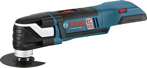Cordless Oscillating Multitools  Bosch Power Tools