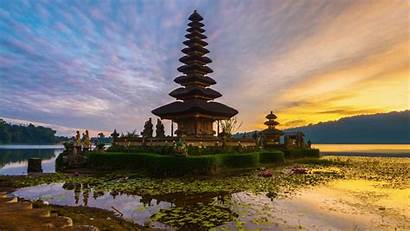 Bali Indonesia Temple Landscape Architecture Asian Wallpapers