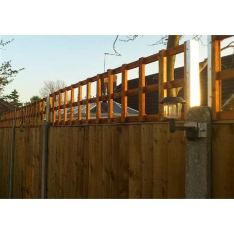 Trellis Fence Extension by Postfix 795mm Trellis Fence Height Extension Arms Pair
