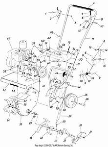 Mtd 21030s  1985  Parts Diagram For Tiller