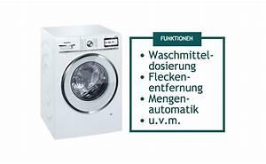 Waschmaschinen Funktionen
