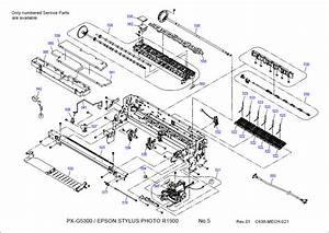 Epson Stylus Photo R1900 Parts Manual
