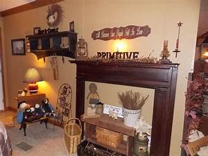 Primitive, Country, Manufactured, Home, Decorating, Ideas