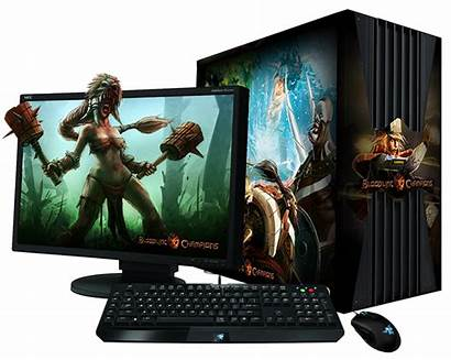 Gaming Pc Computer Transparent Computers Budget Easy