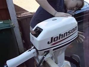 2005 Johnson  Evinrude 15hp 2 Stoke Outboard