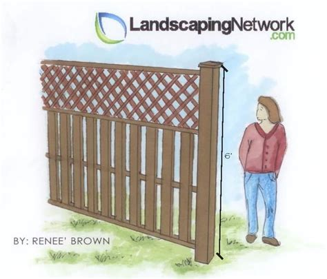 height of fence fence height regulations landscaping network