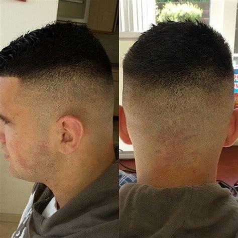 cool high  tight haircuts military haircut  men