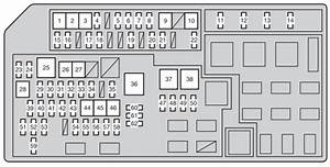 Toyota Land Cruiser 150  2012  - Fuse Box Diagram