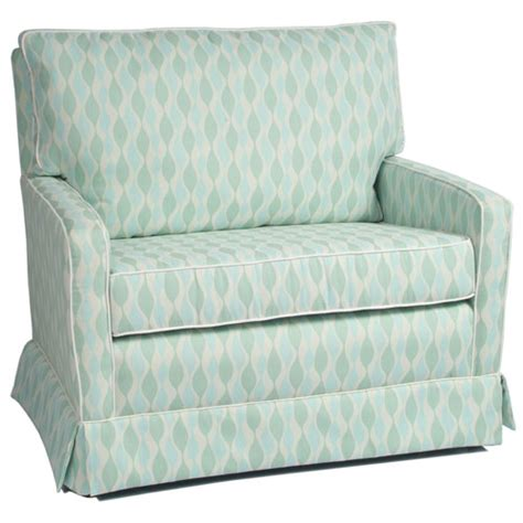 mesa chair and a half glider in choice of fabric and